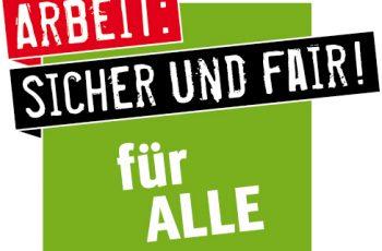 Logo zur Kampagne Werkverträge