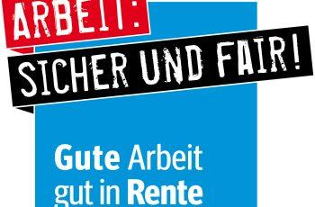 Logo zur Renten-Kampagne