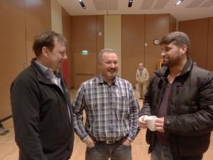 Volker Büddefeld (l.) und Asim Islah (r.) von ABC  Foto: IGM GH
