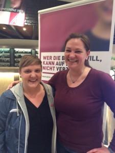 Foto 2_Frauenkonferenz_Jenny + Birgit