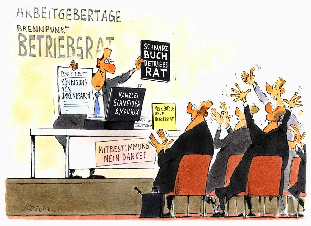 Mobbing Sabotage Kündigung Betriebsräte Im Visier Der