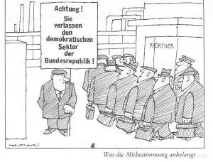 Karikatur_Was die Mibestimmung... JuppWolter