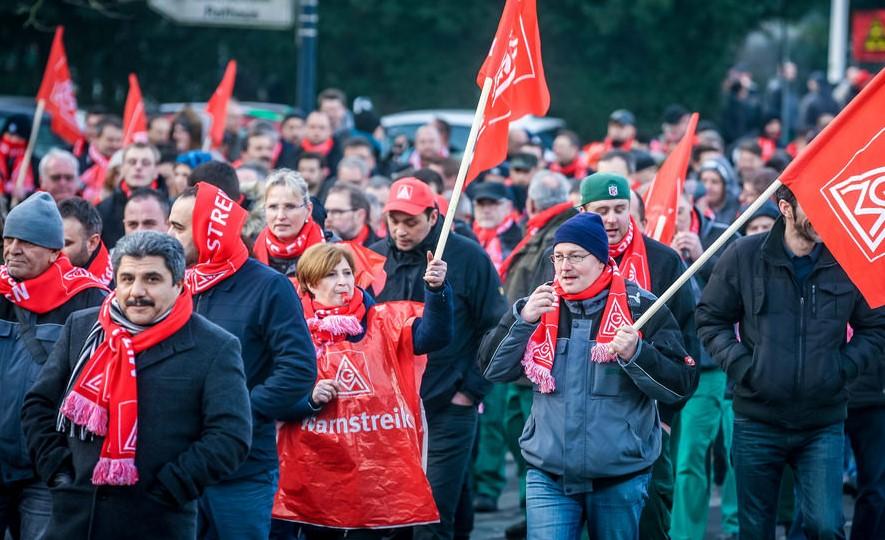 Offensive Lohnpolitik Erfolgreich Ig Metall Wuppertal
